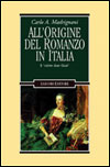 All'origine del romanzo in Italia