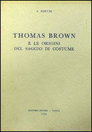 Thomas Brown e le origini del saggio di costume