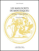 Les Manuscrits de Montesquieu