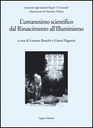 L'umanesimo scientifico dal Rinascimento all'Illuminismo